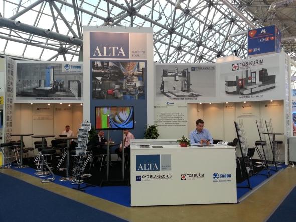 Vývozní aktivity společnosti Alta jsou orientovány na dodávky obráběcích strojů, zařízení na těžbu a úpravu rud a kamene a zařízení na výrobu stavebních hmot.