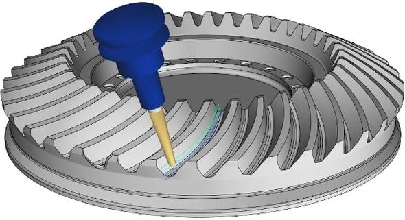 Společnost ModuleWorks vylepšila frézovací strategie pro výrobu ozubených kol. Foto: ModuleWorks