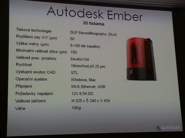 Technické parametry 3D tiskárny Ember umožňují vytisknout prstýnek s vysokou přesností za devadesát minut. Foto: Marek Pagáč