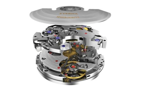 Hodinový strojek se skládá ze stovek miniaturních dílů. K profesionálním řešením Catia a Enovia přibyla do společnosti aplikace Delmia V6. Foto: Eterna