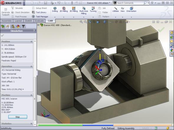 Zajímavostí softwaru HSMWorks je schopnost distribuovat požadavek na výpočetní výkon na více procesorů současně, a to i v rámci počítačové sítě. Foto:HSMWorks.com