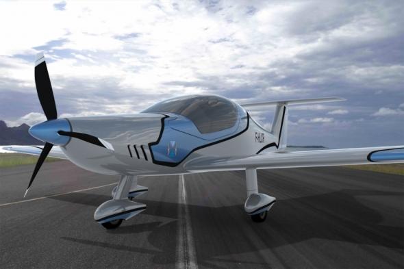 Fotorealistická vizualizace letounu F-HLXR. Foto: Foto: Dassault Systèmes.