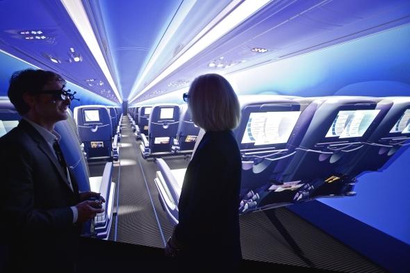 S 3D vizualizacemi kabin pomůže nově řešení Passenger Experience. Foto: Dassault Systèmes
