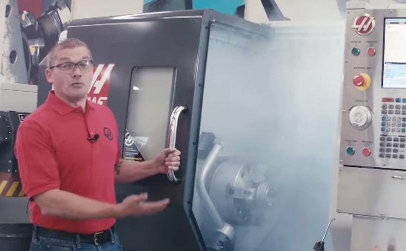 Video: Jak odsát mlhu zprostoru CNC obráběcího stroje