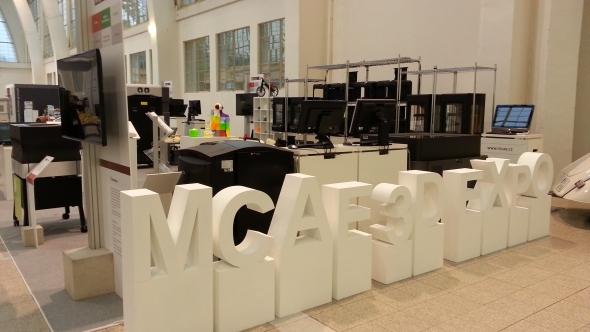 Po loňském úspěchu organizovala společnost MCAE společně se svými partnery výstavu 3D technologií vpavilonu A1