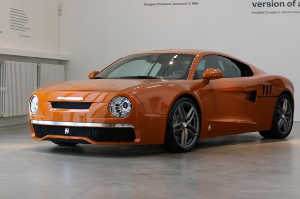 Na výstavě Svět 3D technologií uvidíte i luxusní sportovní automobil R 200. Foto: autotrip.cz