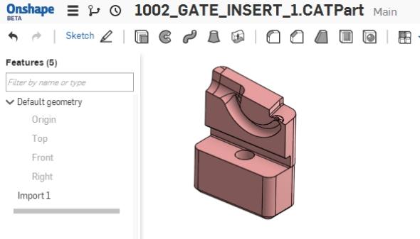 … a Catie do prostředí on-line CAD řešení Onshape.