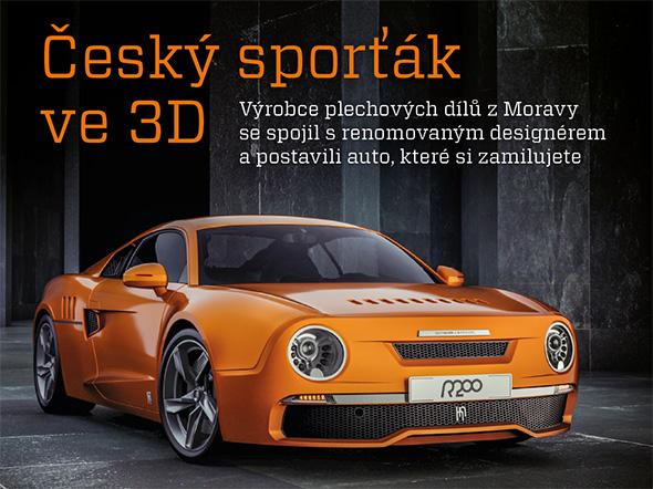 Konstruktér 3/2015 je první strojírenský časopis, který umí zobrazit 3D modely výrobků