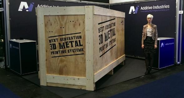 Tiskárnu MetalFAB1 představí společnost Additive Industries na veletrhu FormNext ve Frankfurtu. Foto: Additive Industries