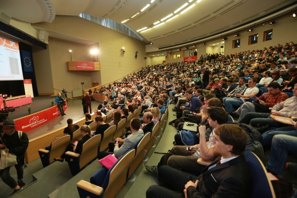 Přednáška významného profesora přilákala studenty i pedagogy z VŠB-TU Ostrava. Foto: Honeywell