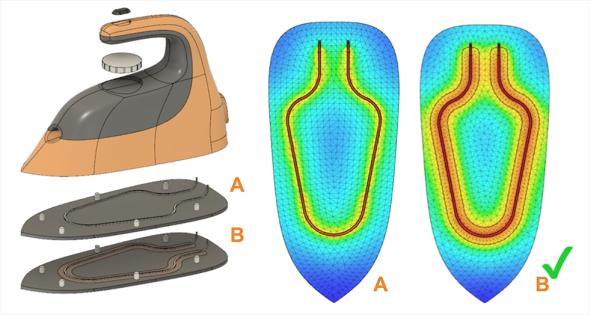 Významnou část aktualizace řešení Autodesk Fusion 360 zahrnují tepelné simulace. Foto: Inventorguru.cz