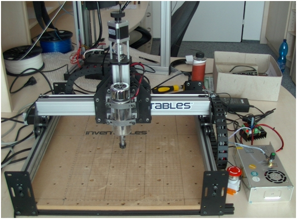 Sestava open-source CNC frézky Shapeoko 2
