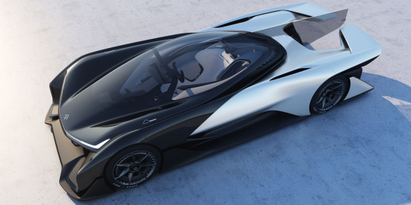 Koncept elektromobilu FFZero1. Foto: Faraday Future