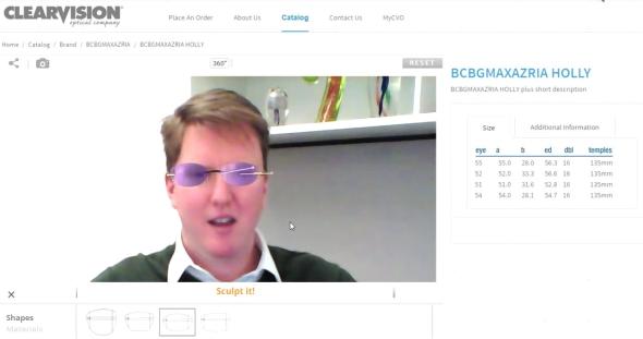 Jak propojit navrhování s praktickým 3D tiskem představil Richard Friedfeld ze společnosti ClearVision. Ten vidí potenciál v originálním navrhování brýlí na míru prostřednictvím webkamery. V on-line řešení si vyzkoušíte různé varianty brýlí, odstíny a materiál a vytvoříte si vlastní fotografii, kterou můžete sdílet na Facebooku. Druhý názor je vždy důležitý. Následně odešlete digitální data pro tisk do 3D tiskárny. Vytištěné brýle vám budou zaslány poštou