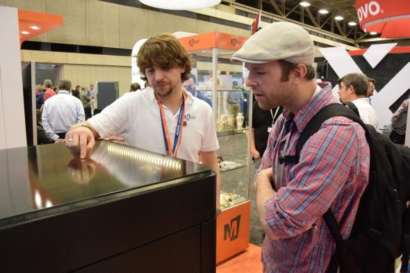 Papírový 3D tisk na konferenci SolidWorks World 2016 zaujal
