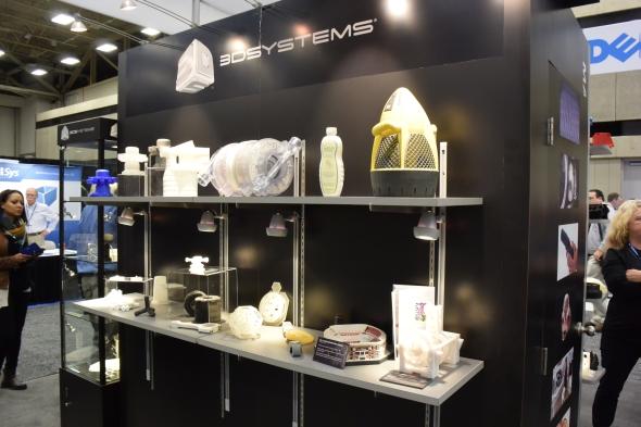 Prezentace výtisků společnosti 3D Systems