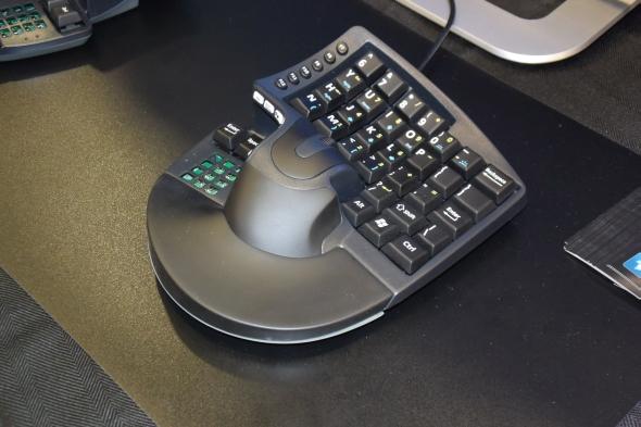 Za kombinaci myši a klávesnice obdržela společnost KeyMouse ocenění za inovaci na veletrhu CES 2016