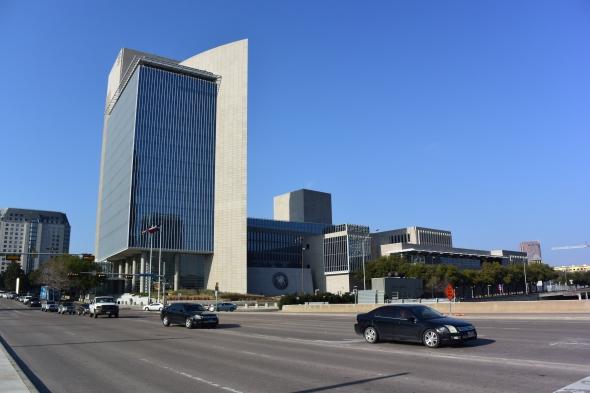 Pohled na federální banku