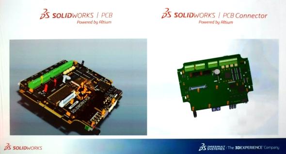Společnost Dassault Systèmes SolidWorks uzavřela nové partnerství s firmou Altium. Ta pomohla do SolidWorksu integrovat nástroje pro navrhování plošných spojů