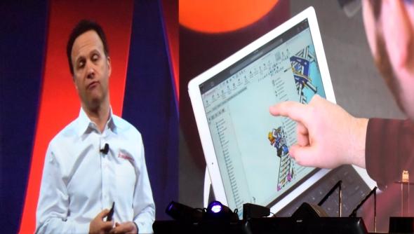 Jeden z hlavních partnerů konference SolidWorks World 2016 byla společnost Microsoft. Ta prezentovala tablety Microsoft Surface speciálně navržené pro práci v CADu. Zda-li se navrhování po praktické stránce zavede do tabletů, ukáže čas