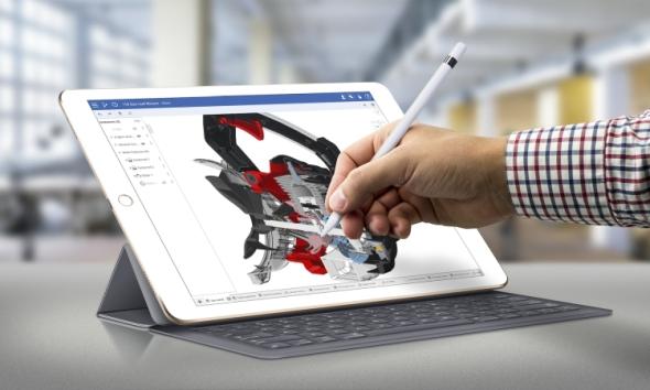 Zdali se praktické navrhování více přenese i do tabletů, ukáže čas. Foto: Onshape