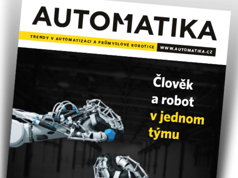 Vydáváme nový titul Automatika – získejte ho zdarma!
