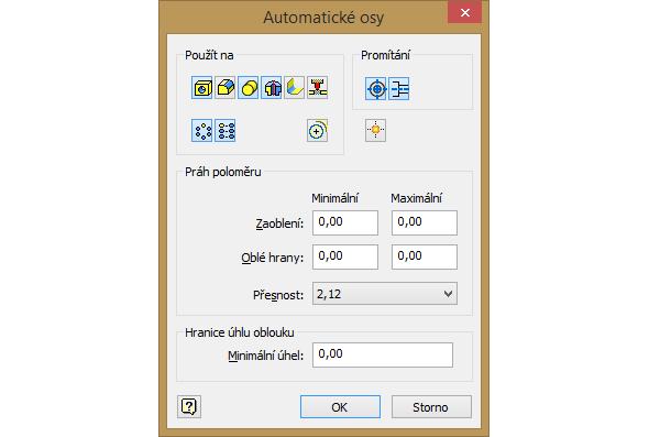 Automatické osy