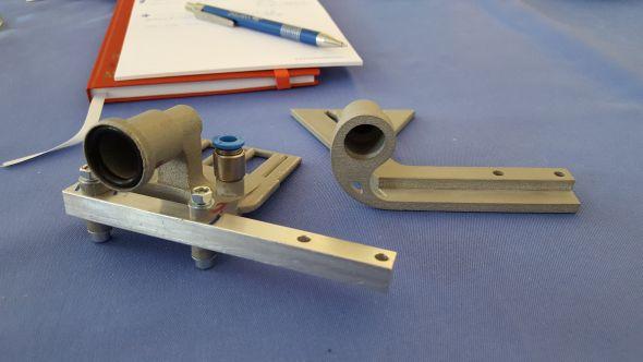 Praktická ukázka součástek pro rozvod vzduchu