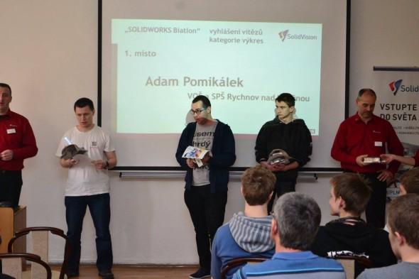 Nejlepšími mladými konstruktéry jsou studenti z Rychnova nad Kněžnou. Letos sbírali medaile i v soutěži v CAM programování