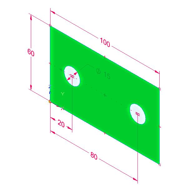 … prostřednictvím orientační krychle v pravém dolním rohu nastavte Izometrický pohled. Výběr náčrtu kvysunutí potvrďte tlačítkem Enter.