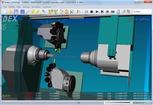 Sřešením Eureka Virtual Machining ověříte virtuální obrábění spolehlivěji. Obrázek: Roboris