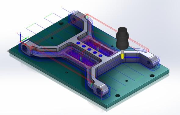 Novinky v 2,5D frézování v SolidCAMu odhalí první díl on-line semináře