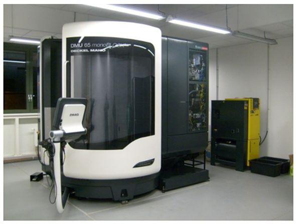Pětiosé CNC frézovací centrum DMU 65 MonoBlock