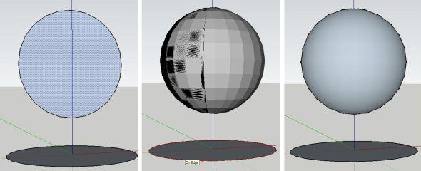 Vytvořená koule