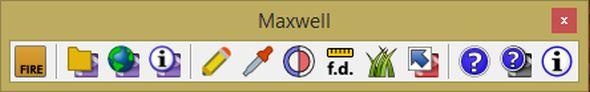 Panel nástrojů Maxwell