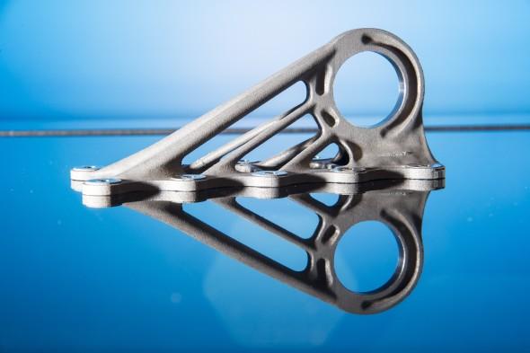 Inovativní přístup aditivní výroby vidí skupina Airbus Group při výrobě letadlových součástek. Nově k tomu využívá platformu 3D Experince od společnosti Dassault Systèmes. Foto: Airbus