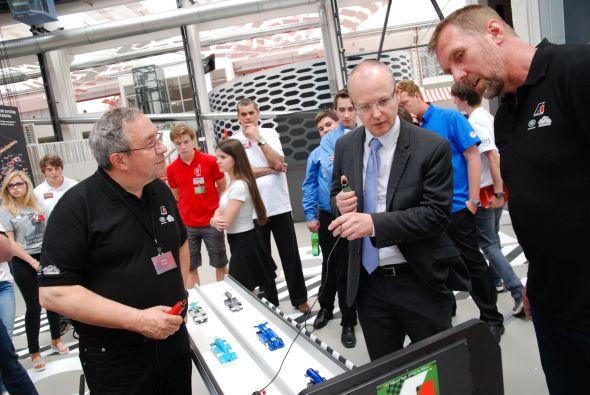 Soutěžící přijel podpořit i náměstek ministra průmyslu a obchodu Eduard Muřický