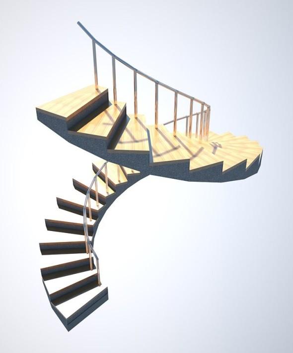 SketchUp: Jak vymodelovat točité schodiště