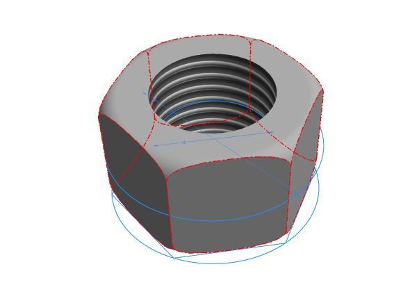 Inventor: Jak vymodelovat matici