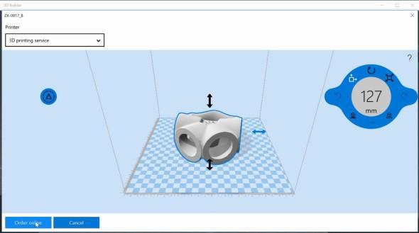 Spřípravou digitálních dat pro 3D tisk pomůže 3D Builder