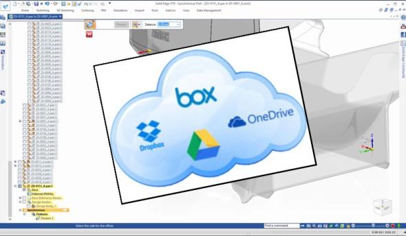 Sdílení dat je propojeno súložišti OneDrive, GoogleDrive včele sDropboxem