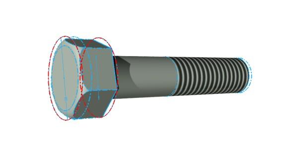 Inventor: Jak vymodelovat šroub se šestihrannou hlavou