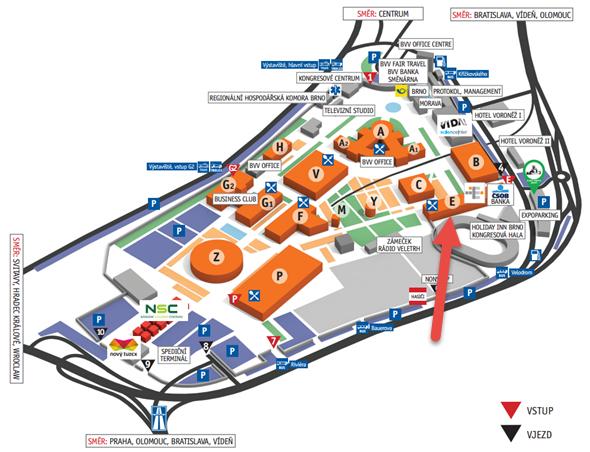 Obě konference se uskuteční v sálu E1 pavilonu E brněnského výstaviště. Obrázek: BVV