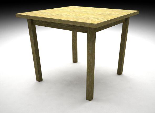 SketchUp: Jak vymodelovat stůl