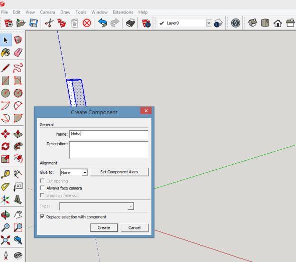 Vdialogovém okně zadejte název a klikněte na tlačítko Vytvořit (Create)