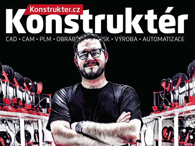 Konstruktér 3/2016 – prolistujte si aktuální vydání