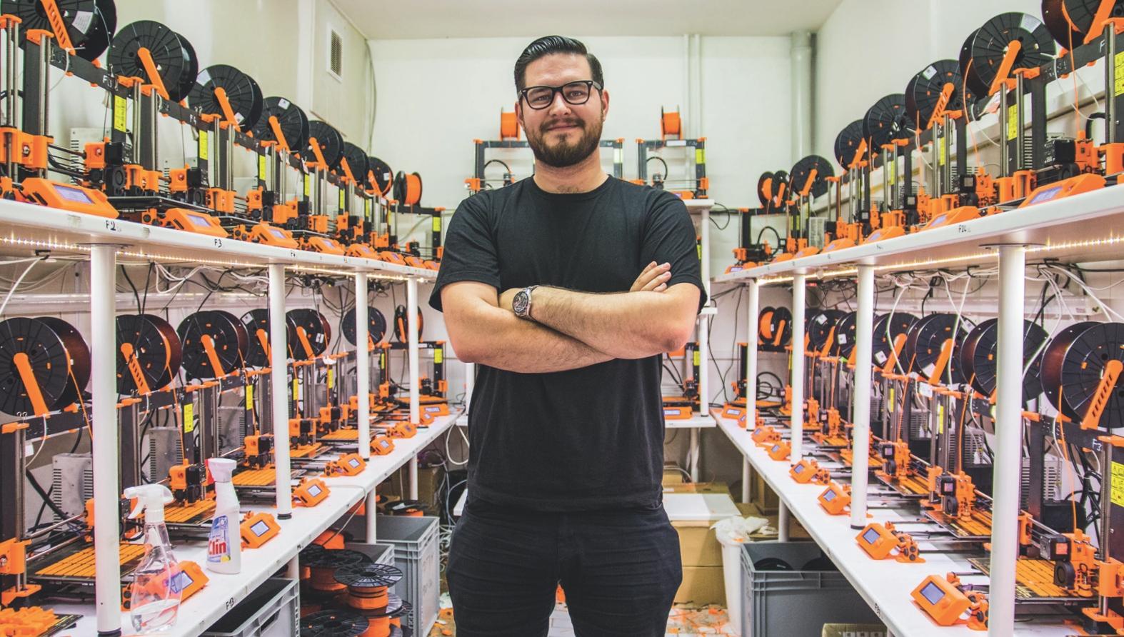 Český kutil dobývá svět s levnou 3D tiskárnou (rozhovor)