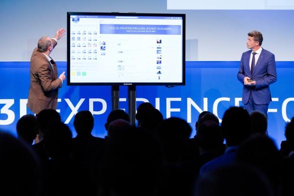 O výhodách platformy 3D Experience živě debatovali Adreas Barth a Laurent Blanchard