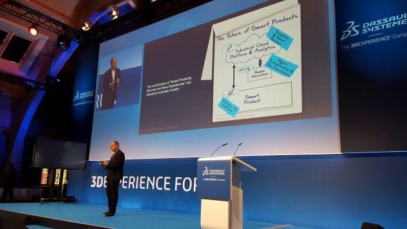 O budoucnosti obchodních modelů, které souvisí s prodejem chytrých produktů, hovořil Frank Riemensperger
