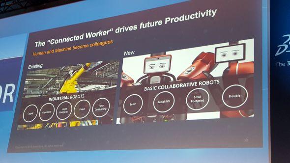 Lidé a roboti spolu komunikují – řeč na odborném fóru byla i o nasazení kolaborativních robotů ve výrobním procesu